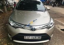 Bán Toyota Vios 1.5G sản xuất 2015, màu vàng
