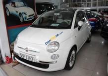 Cần bán Fiat 500 1.2 AT năm 2009, màu trắng, xe nhập, giá 580tr