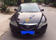 Bán ô tô Mazda 6 sản xuất 2006, màu đen số sàn, 249tr