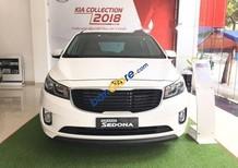 Bán ô tô Kia Sedona DAT sản xuất 2018, màu trắng