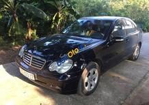Bán Mercedes C180 năm 2003, màu đen xe gia đình, 219 triệu