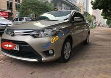 Chính chủ bán ô tô Toyota Vios E 1.5 MT sản xuất 2017, màu vàng