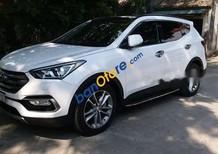 Cần bán lại xe Hyundai Santa Fe AT sản xuất năm 2017, màu trắng, nhập khẩu