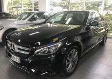 Bán Mercedes C200 năm 2017, màu đen