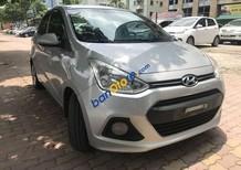Cần bán lại xe Hyundai Grand i10 1.2MT sản xuất 2015, màu bạc, xe nhập số sàn