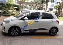 Bán xe Hyundai Grand i10 1.2 AT sản xuất 2018, màu trắng