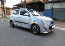 Cần bán Kia Morning 1.1 MT sản xuất 2012, màu bạc, giá 197tr