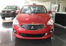 Cần bán Mitsubishi Attrage 1.2 CVT sản xuất năm 2018, màu đỏ, nhập khẩu, giá 475tr