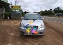 Cần bán lại xe Daewoo Gentra sản xuất 2009, màu bạc