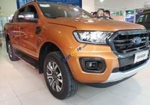 Bán xe Ford Ranger 2.0 Bi-Turbo 4x4, 2018, màu cam, nhập khẩu, xe đẹp