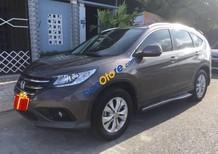 Bán Honda CR V sản xuất 2014, màu nâu như mới, giá tốt