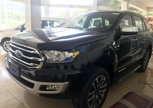 Cần bán xe Ford Everest Titanium 4WD năm 2018, màu đen, nhập khẩu
