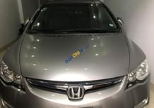 Cần bán Honda Civic năm 2007, màu bạc số tự động