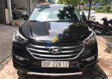 Bán Hyundai Santa Fe 2.2L 4WD năm 2016, màu đen giá tốt