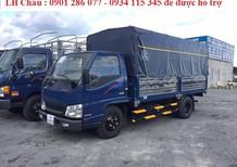 Bán xe tải Đô Thành IZ49 2.4 tấn thùng kín/thùng bạt + động cơ Isuzu + Giá cạnh tranh