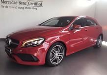 Bán xe Mercedes A250 đỏ cũ - lướt 6/2018 chính hãng