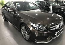 Bán xe Mercedes C300 nâu cũ - lướt 6/2018 chính hãng