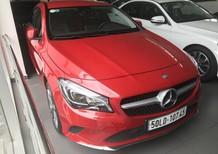 Bán xe Mercedes CLA200 đỏ cũ - lướt 6/2018 chính hãng