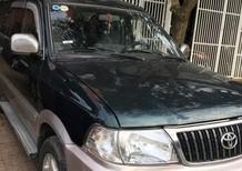 Cần bán xe Toyota Zace GL 2005 số sàn màu xanh, nội thất nỉ zin