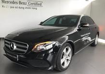 Bán xe Mercedes E250 đen cũ - Lướt 12/2017 chính hãng