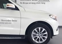 Bán xe Mercedes GLE400 trắng cũ - Lướt 12/2017 chính hãng