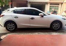 Mazda 3 hatchback 2015 trắng thể thao đầy trẻ trung, xe ít đi