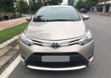 Bán Toyota Vios E 2017 vàng cát, số sàn ít đi