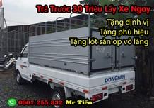 Bán xe Tải Dongben thùng mui bạt 1 tấn 25