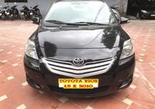 Cần bán gấp Toyota Vios 1.5 E 2010, màu đen, giá 290tr