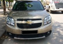 Cần bán gấp xe Chevrolet Orlando đời 2012 bản LTZ, số tự động, màu vàng cát