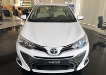 Bán xe Toyota Vios 1.5G AT năm sản xuất 2018, màu trắng, giá chỉ 606 triệu