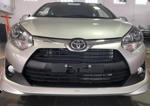 Bán Toyota Wigo 1.2AT  màu bạc, nhập khẩu