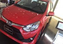 Bán Toyota Wigo 1.2AT 2018, màu đỏ, nhập khẩu nguyên chiếc giá cạnh tranh