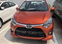 Bán xe Toyota Wigo 1.2AT màu cam 2018, nhập khẩu chính hãng, giá 405tr