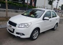 Cần bán xe Chevrolet Aveo LT 2017 số sàn, màu trắng