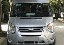 Bán nhanh Ford Transit bạc 2016 dầu ít đi, chạy êm ái
