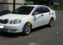 Cần bán gấp Toyota Corolla altis 1.8MT sản xuất năm 2002, màu trắng số sàn