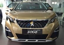 Cần bán Peugeot 3008 năm 2018, màu vàng cát