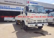 Bán xe tải Isuzu 4.9 tấn sản xuất năm 2018, màu trắng giá cạnh tranh