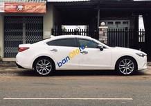 Bán Mazda 6 năm sản xuất 2014, màu trắng chính chủ