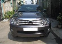 Cần bán xe Toyota Fortuner G năm sản xuất 2010, màu xám như mới