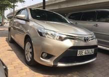 Cần bán lại xe Toyota Vios E 1.5MT đời 2017, màu vàng, xe chất