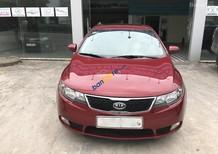Cần bán gấp Kia Cerato 2011, màu đỏ, nhập khẩu Hàn Quốc số tự động, giá chỉ 435 triệu