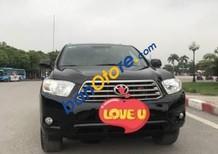 Bán Toyota Highlander năm 2008, màu đen
