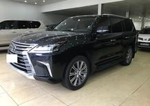 Cần bán xe Lexus LX 570 Xuất Mỹ, màu đen, sản xuất 2016, biển tư nhân sang tên 2%