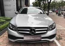 Bán Mercedes E250, đăng ký 2018, màu bạc đẹp như xe mới, giá cực rẻ chỉ 2,129 tỷ