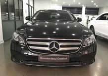Bán Mercedes E250 năm 2017, màu đen như mới