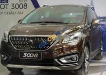 Bán Peugeot 3008 1.6AT năm 2017, màu nâu, nhập khẩu giá tốt