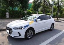 Bán xe cũ Hyundai Elantra 1.6AT năm 2016, màu trắng