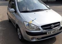 Cần bán Hyundai Getz 1.1 sản xuất 2009, màu bạc, nhập khẩu